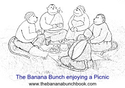 The Banana Bunch enjoying a picnic smlpng